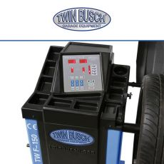 Twin Busch ® Wheel Balancer Semi autom.