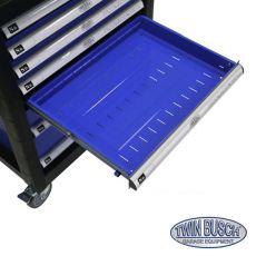 Filled tool box with 7 drawers