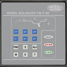Wheel Balancer automatic with TFT- colour screen