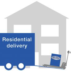 Delivery to residential address