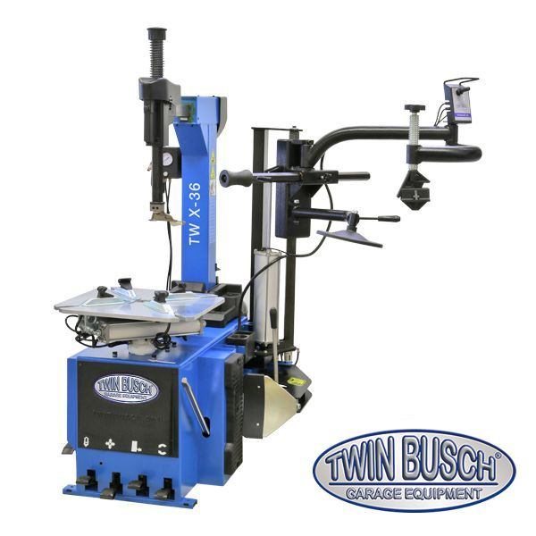 Twin Busch Tire Changer Automatic