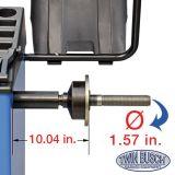 Twin Busch ® Automatic wheel balancer