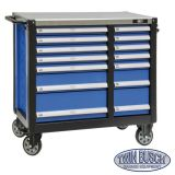 Tool trolley with 14 drawers - TW 014L